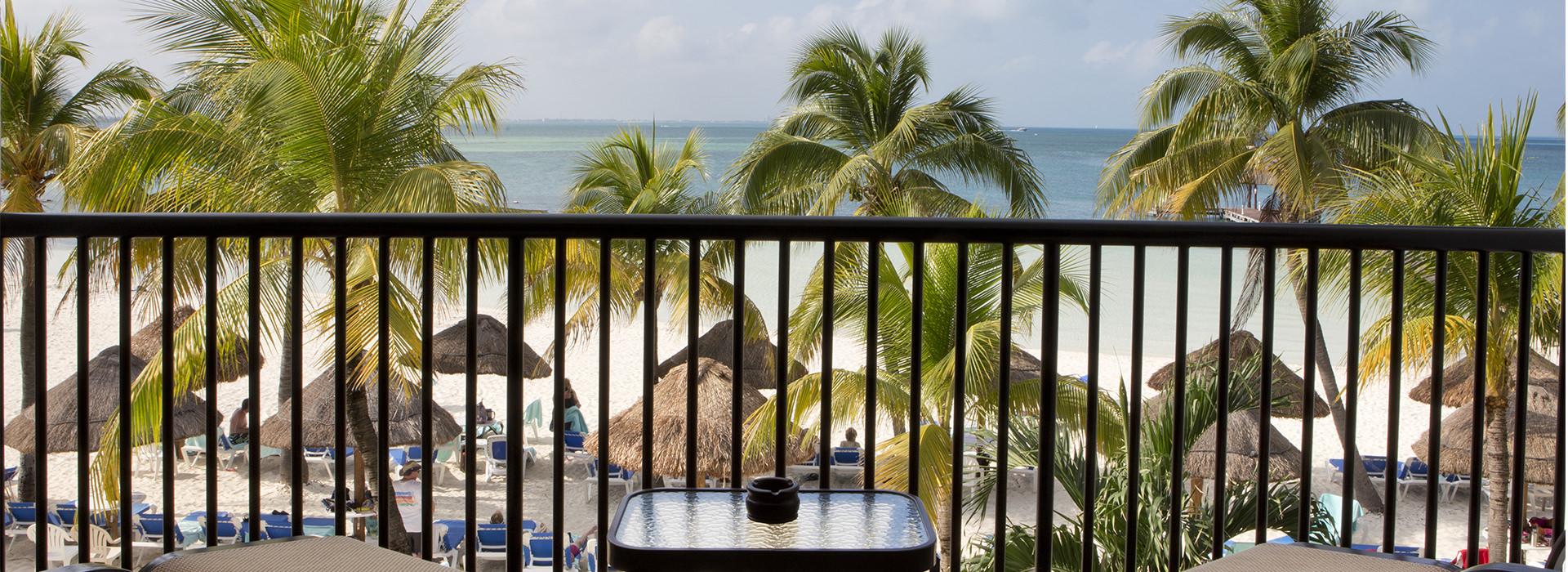hotel en Cancún con suite frente al mar