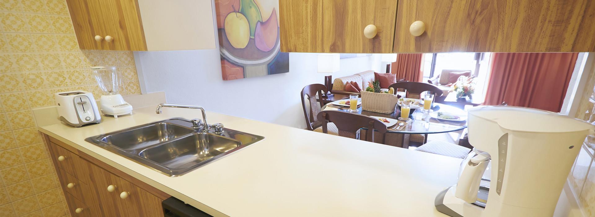 suite en Cancún con cocina