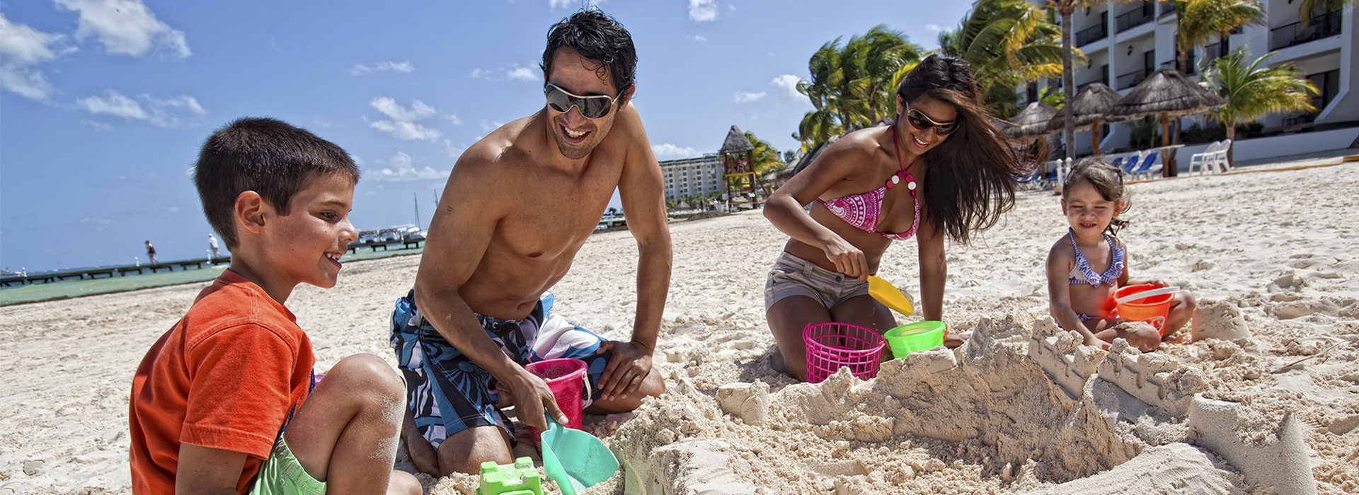 family activities in Cancun beach