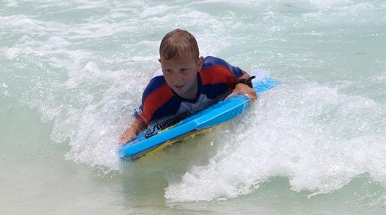 playa para niños en cancun