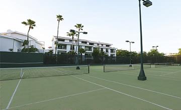 resort en Cancún con canchas de tenis