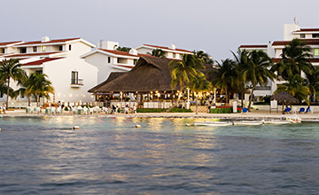 resort en Cancún frente al mar